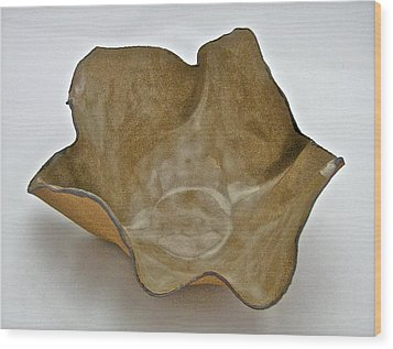 Wood Print featuring the sculpture Paper-thin Bowl  09-010 by Mario Perron
