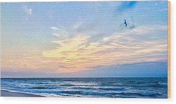Paraclete At Sunrise  Wood Print by Mary Ward