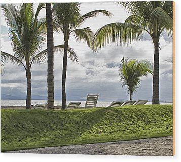 Paradise Waiting Wood Print by Wendell Thompson