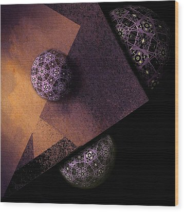 Paragon Wood Print by Susan Maxwell Schmidt
