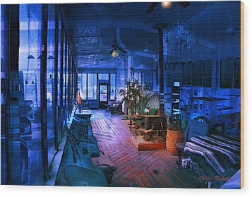 Paranormal Activity Wood Print by Gunter Nezhoda