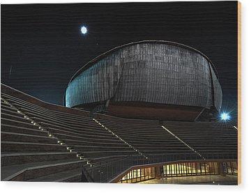 Parco Della Musica Wood Print by Simone Micheli