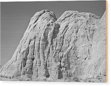 Paria Utah X Wood Print by Dave Gordon