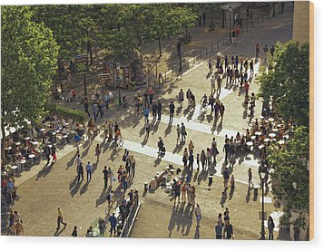 Wood Print featuring the photograph Paris Afternoon by John Hansen