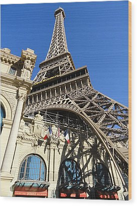 Paris Casino Wood Print by Renie Rutten