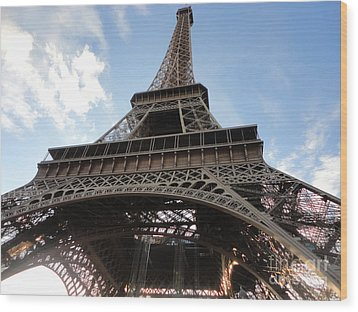Paris France Wood Print by Gregory Dyer