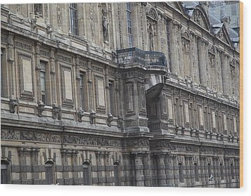 Paris France - Street Scenes - 011337 Wood Print by DC Photographer
