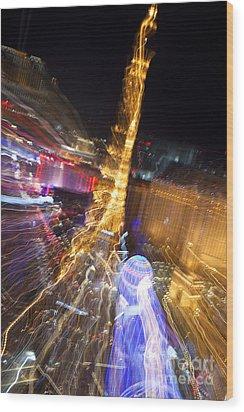 Paris In Vegas Wood Print by Igor Kislev