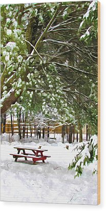 Park 1 Wood Print by Lanjee Chee