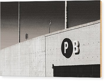 Wood Print featuring the photograph Parking B by Arkady Kunysz
