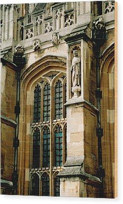 Parliament In London Wood Print