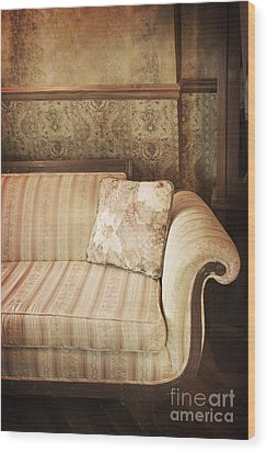 Parlor Seat Wood Print by Margie Hurwich