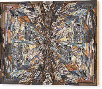 Parquet Mania Wood Print by Tim Allen