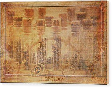 Parts Of Time Wood Print by Fran Riley