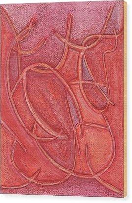 Pass This Way Wood Print by Kelly K H B