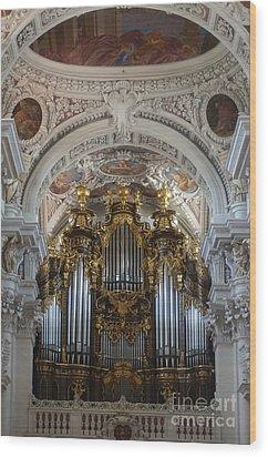 Passau Cathedral Saint Stephan 2 Wood Print