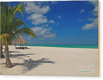Passion Island Wood Print