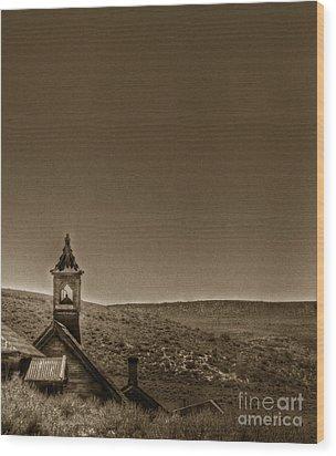Past Wood Print by Margie Hurwich