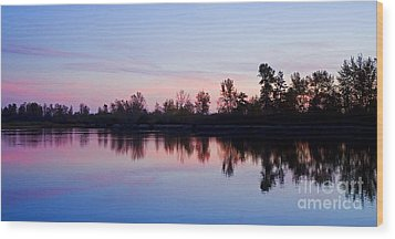Wood Print featuring the photograph Pastel Landscape by Nick  Boren