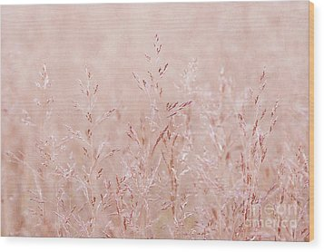 Pastel Nature Wood Print by Svetlana Sewell