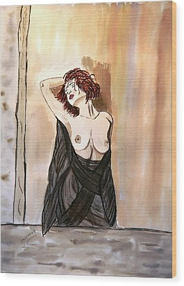 Pastel Passion Wood Print by Shlomo Zangilevitch