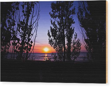 Wood Print featuring the photograph Pastel Sun by Jason Naudi Photography