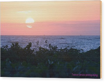 Pastel Sunrise Wood Print