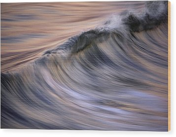 Pastel Wave  Mg2081 Wood Print by David Orias
