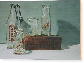 Pasteurized Wood Print by Denny Bond