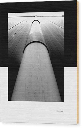 Path 2 Wood Print by Xoanxo Cespon