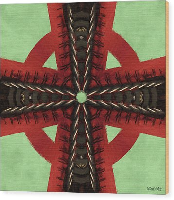 Pathway To Knowledge Wood Print by Jeff Kolker