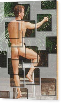Patrick D. 2--2 Wood Print
