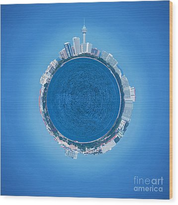 Pattaya World Wood Print by Atiketta Sangasaeng