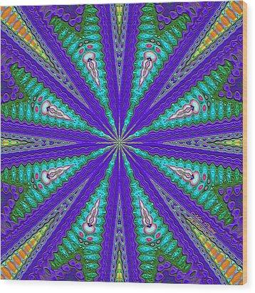 Pattern 37 Wood Print