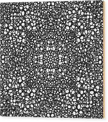 Pattern 42 - Intricate Exquisite Pattern Art Prints Wood Print by Sharon Cummings