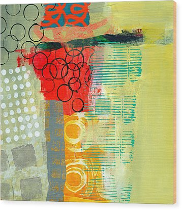 Pattern Study #3 Wood Print by Jane Davies