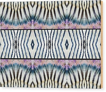 Patterned After Nature IIi Wood Print by Lady Ex