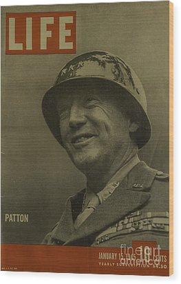 Patton Wood Print