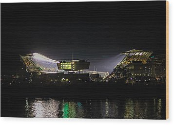 Paul Brown Stadium Wood Print