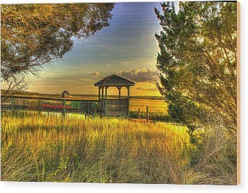 Pawleys Island Sc Wood Print