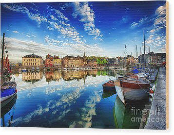 Peace Honfleur Wood Print by Jack Torcello
