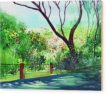 Peace Of Mind 1 Wood Print by Anil Nene