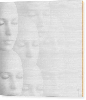 Peace Of Mind Wood Print by Jacky Gerritsen