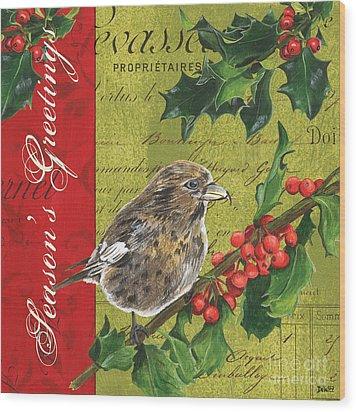 Peace On Earth 1 Wood Print by Debbie DeWitt