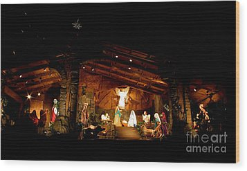 Peace On Earth Wood Print by Jay Nodianos