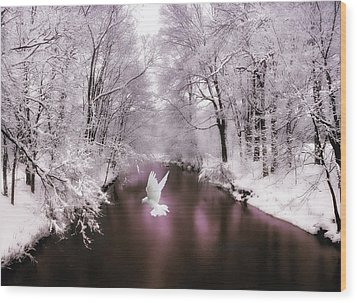Peace On Earth   Wood Print by Jessica Jenney