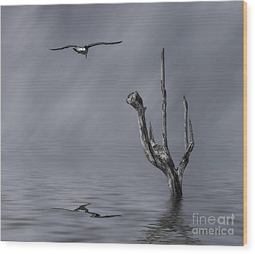 Wood Print featuring the photograph Peace by Shirley Mangini