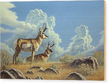 Peaceful Afternoon Wood Print by Paul Krapf