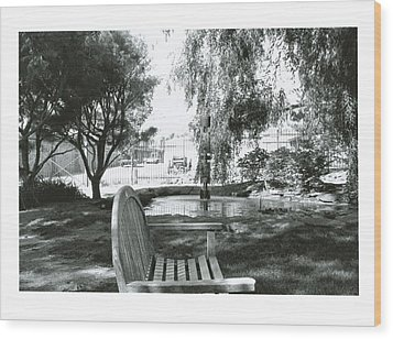 Peaceful Place Wood Print