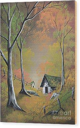 Peaceful Practice Wood Print by Steven Lebron Langston
